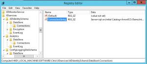 DCUG   Datenbank Migration   Registry